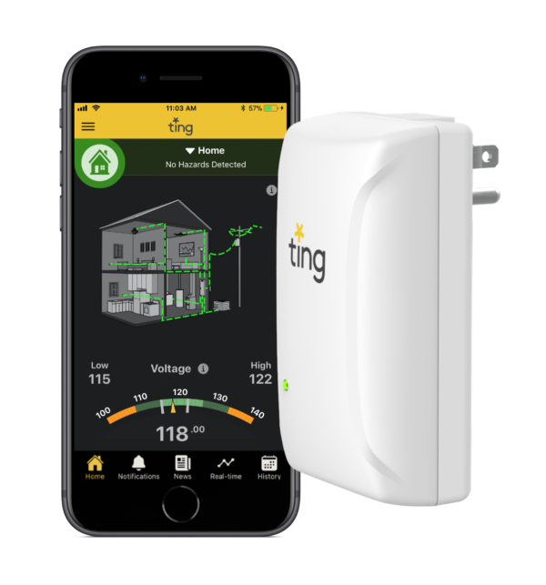 ting sensor and app