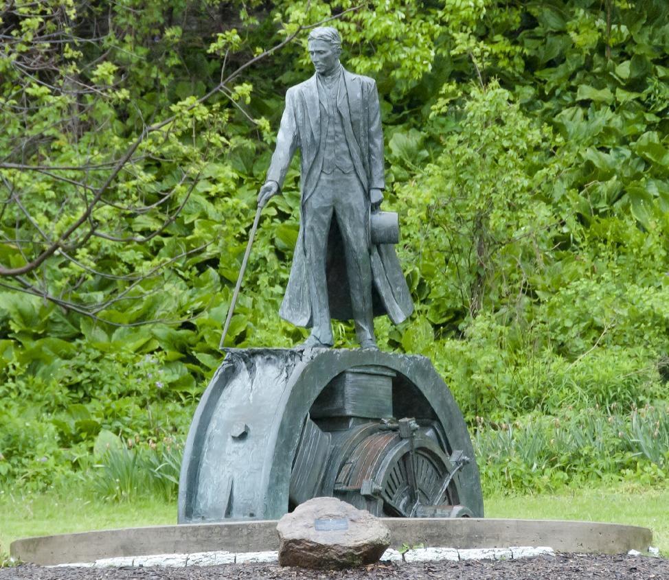 Statue of Nikola Tesla, Niagra Falls