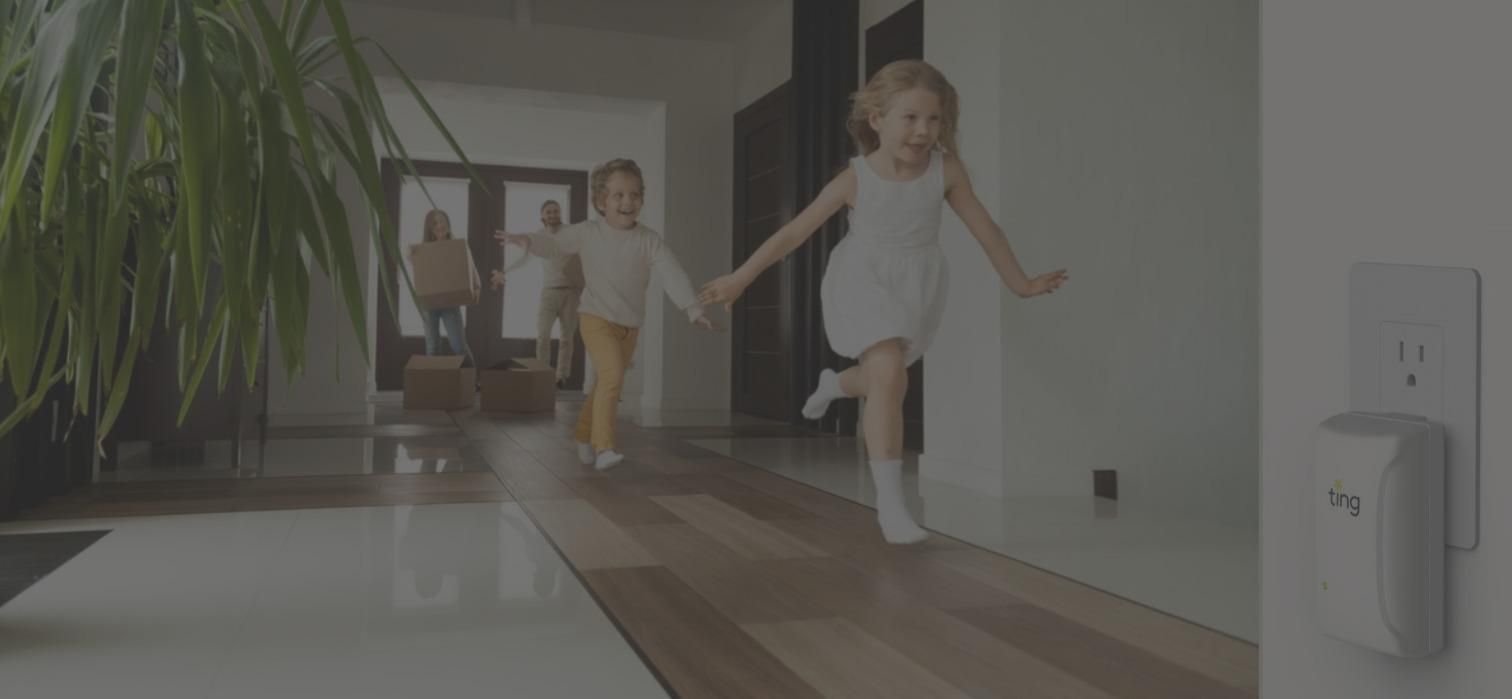 kids running in hall, Ting in outlet