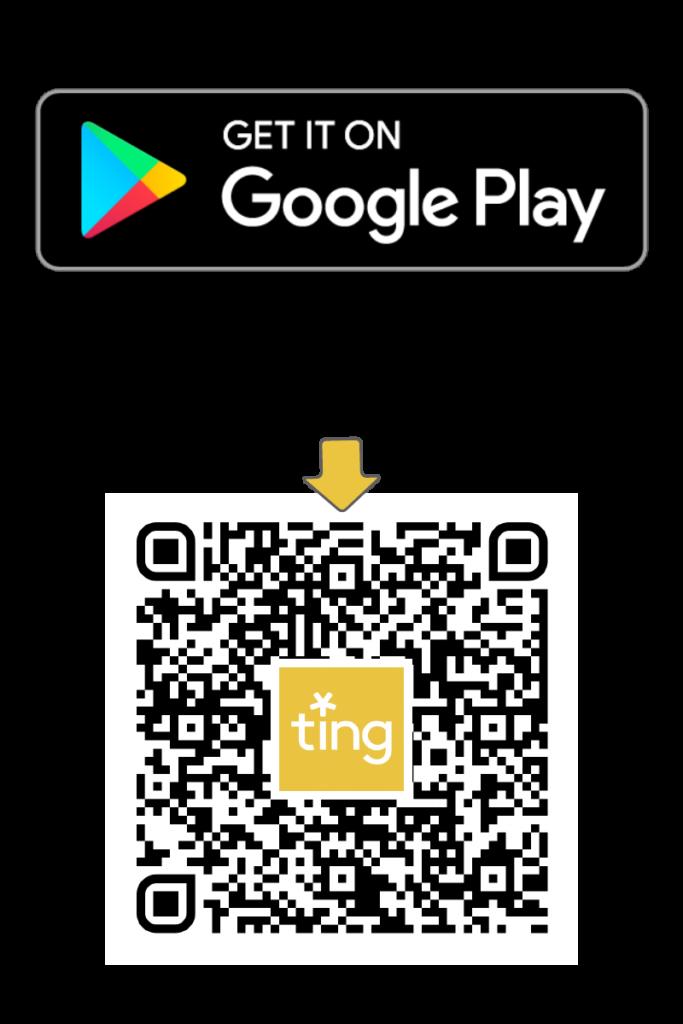 Ting app sensor Google Play