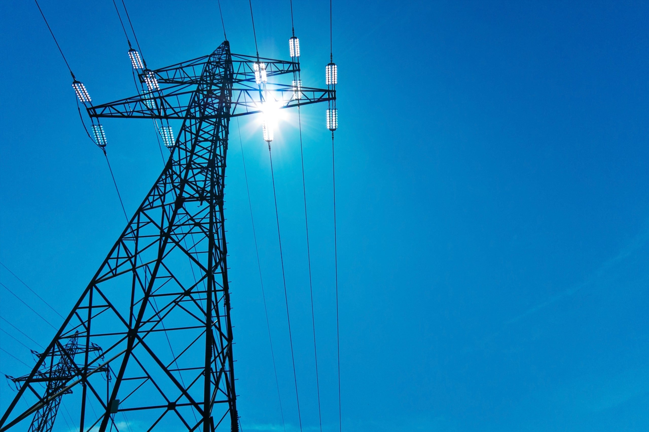 utility electrical transmission tower