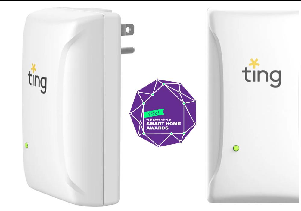 Sensors with award badge